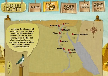 Ancient Egypt | Rincón didáctico de CCSS, Geografía e Historia | Recursos Educativos para ESO, Geografía e Historia | Scoop.it