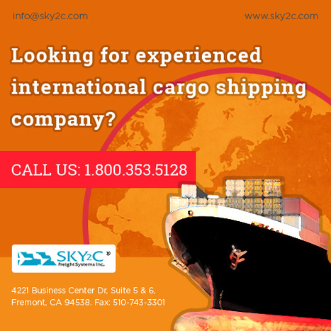 Commercial Cargo with International Ocean Freight   Commercial Cargo Services Fremont   Scoop.it
