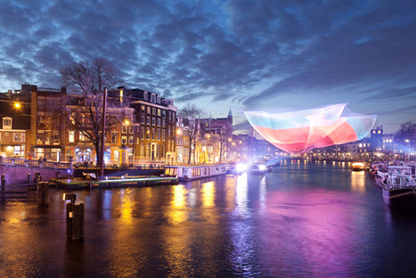 Amsterdam's Light Festival Sets the City Aglow With Magical LED Installations | green streets | Scoop.it
