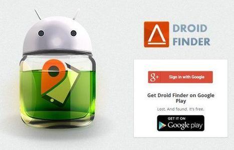 Droid Finder, localiza el terminal Android extraviado o robado | Mobile Technology | Scoop.it