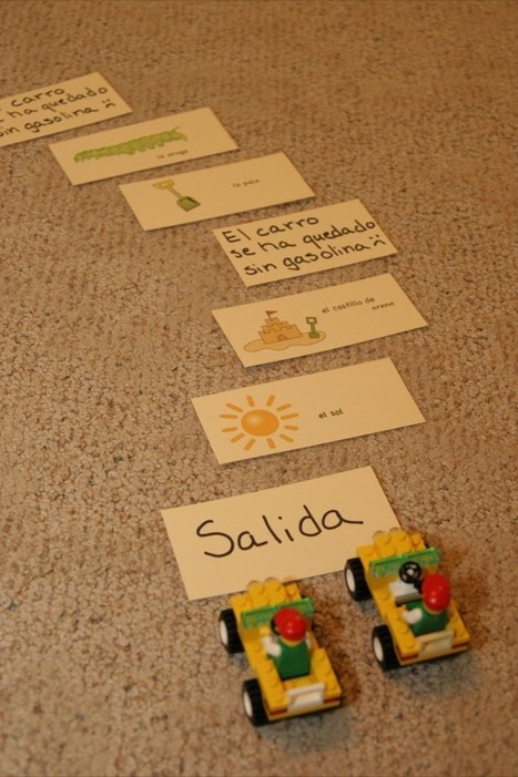 Playing Picture Card Games in Spanish   SpanglishBaby™   Preschool Spanish   Scoop.it
