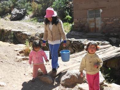Pobladores consumen agua de lluvia y pozos - Diario Correo | Captación de agua de lluvia: sistemas ancestrales y actuales. | Scoop.it