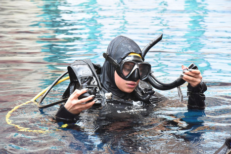 Young amputee in Dubai scuba dives to send out a message | ScubaObsessed | Scoop.it