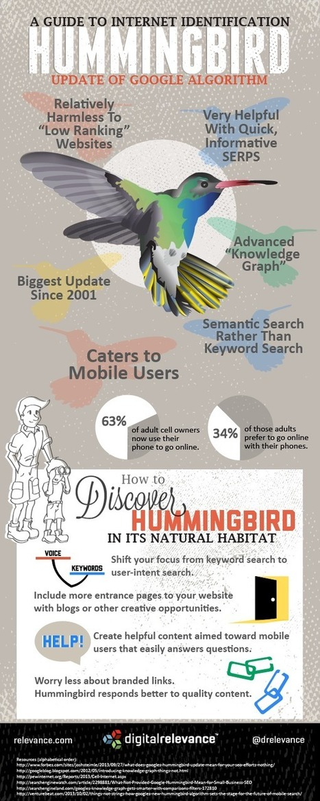 Finalement, c'est quoi Google Hummingbird pour le SEO, le content marketing et la SMO | SEO (Source FR) | Scoop.it