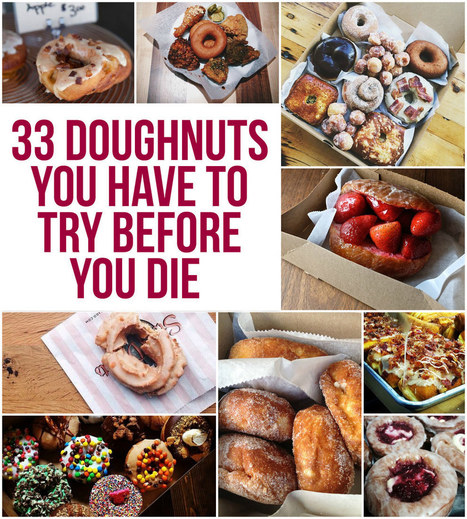 33 Doughnuts You Have To Try Before You Die | El Pekecito | Scoop.it