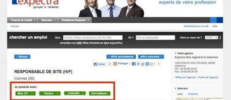Chez Expectra, les candidats peuvent postuler en 1 clic avec Viadeo, Linkedin et Doyoubuzz ! - #rmsnews | Boostez-carrière-avec-linkedin | Scoop.it