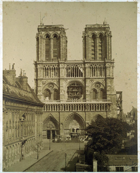 1840 - Notre Dame avant sa restauration | New York et Paris - Capitales. | Scoop.it