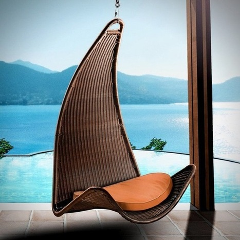 Hanging Chairs | Art and Architecture | Scoop.it