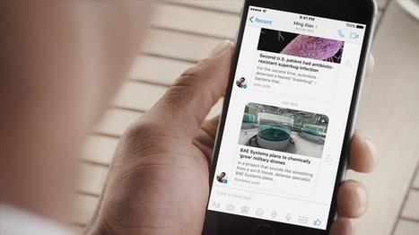Les Instant Articles arrivent sur Facebook Messenger | Web Dev News | Scoop.it