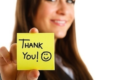 The Big Impact of a Small and Thoughtful Thank You Note | Surviving Leadership Chaos | Scoop.it