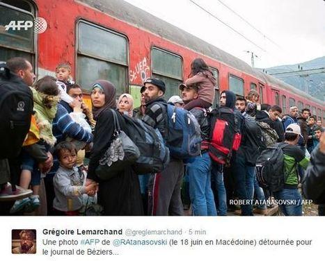 Migrants / Béziers / photomontage : l'AFP saisit son service juridique   Médias, web, réseaux sociaux   Scoop.it