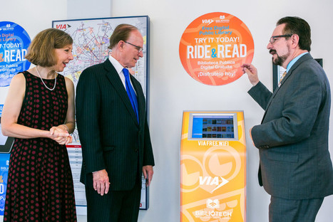 San Antonio Launches Bibliotech Library Kiosks at Area Bus Stations | The Digital Reader | Ebook and Publishing | Scoop.it