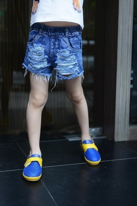 Baby Girl Fashion Summer Tore Up Short Jeans | Clothing at SMA-STAR | Scoop.it