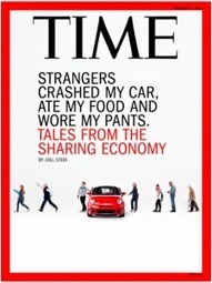 Working Capital Conversations: The Sharing Economy with Joel Stein, Time Magazine | Peer2Politics | Scoop.it