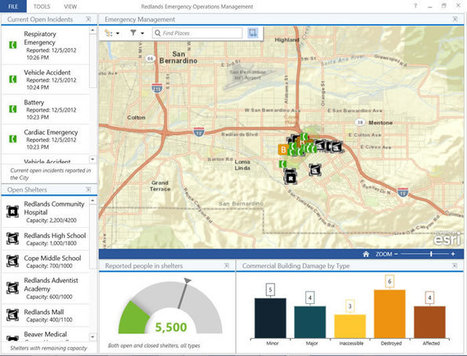ArcGIS Online | Operations Dashboard for ArcGIS | Geospatial Pro - GIS | Scoop.it