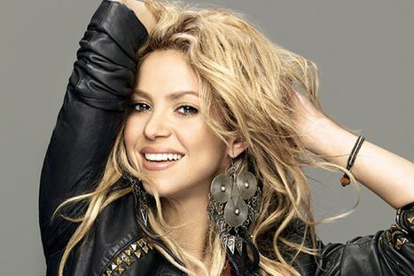Las mejores canciones de Shakira - Letras de canciones   Cibercultura   Scoop.it