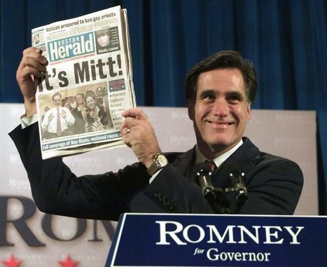 Democracy Danger Signs: Mitt Romney's 800+ Vetoes as Mass. Governor | My Liberal Politics | Scoop.it