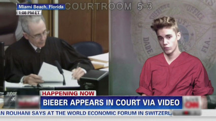Justin Bieber's Bratty Court Appearance | Dark Matters | Scoop.it