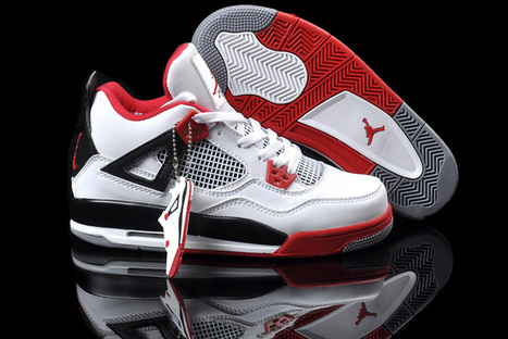 Cheap Air Jordan 4 Retro Womens Fire Red for Sale | Basketball | Scoop.it