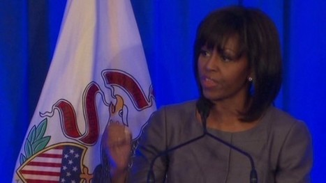 Michelle Obama makes emotional entrance into gun debate   Gov and Law Ashley   Scoop.it