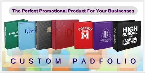 Custom Padfolio Is The Perfect Promotional Product For Your Businesses | Promotional products | Scoop.it