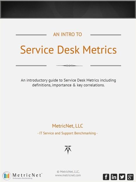 Introduction to Service Desk Metrics   Definitions & Correlations   Tabula Rasa   Scoop.it
