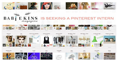 Babiekins Magazine is Looking for a Pinterest Intern! Could that be YOU? | Babiekins | Pinterest | Scoop.it
