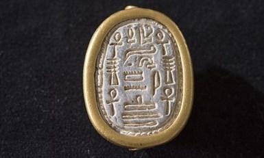 Beautiful ancient scarab seal discovered near Haifa | Egiptología | Scoop.it