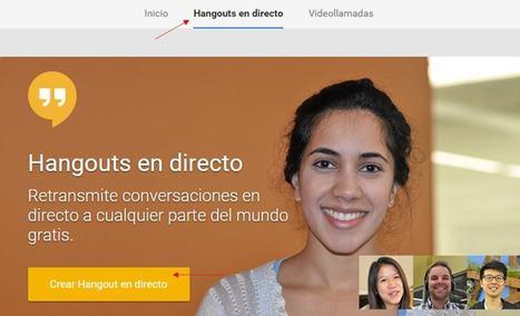 Cómo usar los Hangouts de Google+ | TIC Educativa | Scoop.it