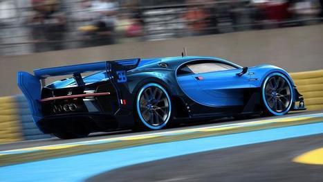 L'énigmatique et prometteuse Bugatti Vision Gran Turismo   Luxe & Luxury   Scoop.it