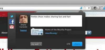 Firefox Share: Un plugin Firefox pour partager facilement les liens | Time to Learn | Scoop.it