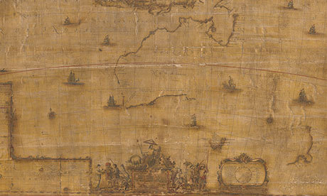 Rare 17th-century map of Australia unveiled in Canberra   The Guardian   Kiosque du monde : Océanie   Scoop.it