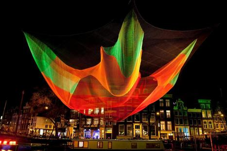 instalation art - Janet Echelman: 1.26 | VIM | Scoop.it