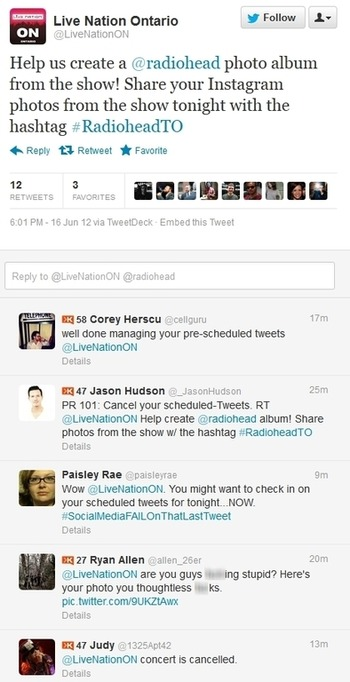 Worst Scheduled Tweet Timing. Ever. | Business in a Social Media World | Scoop.it