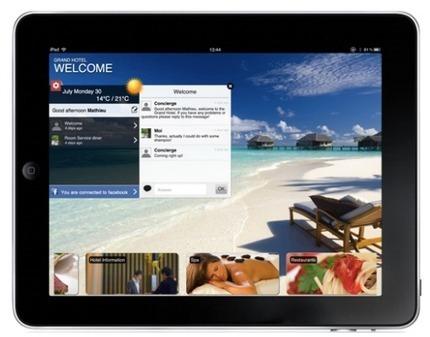 Lounge Up lance son service client sur mobile dédié aux hôtels, clubs et resorts | Solution numériques pour les touristes | Scoop.it