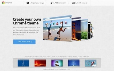 Google Chrome's social theme tool is now available in 36 more languages | BestChromeExtensions | Scoop.it