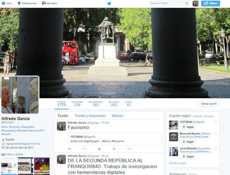Algargos, Arte e Historia: LO QUE MÁS NOS GUSTA DEL ARTE DEL SIGLO XX. Trabajo colaborativo con twitter y storify | 4PR3ND13ND0 | Scoop.it