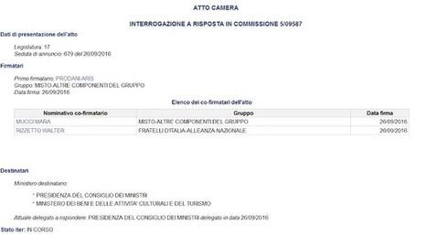 ... e mo aspettiamo la risposta dalla Presidenza del Consiglio e da Dario Franceschini... | ALBERTO CORRERA - QUADRI E DIRIGENTI TURISMO IN ITALIA | Scoop.it