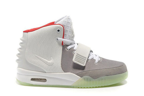 The Nike Air Yeezy ii NRG Wolf Grey Pure Platinum Red New Colorways Ladies Shoes | new and share style | Scoop.it