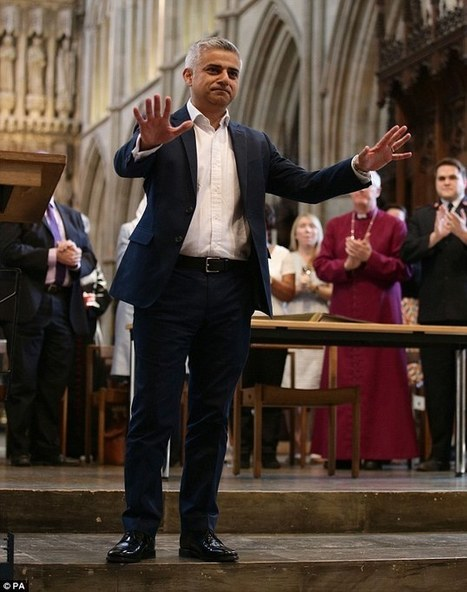 My name is Sadiq and I'm the mayor of London | The Pulp Ark Gazette | Scoop.it