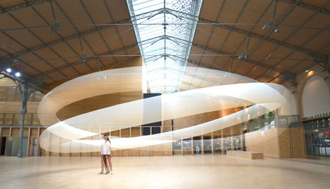 Kinetic Sculpture Hovers Like An Ethereal Halo | The Creators Project | Adolfo Jordan | Scoop.it