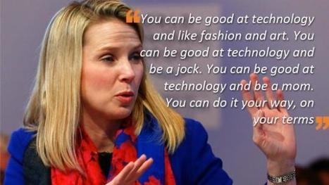 We fight a battle we can't win: Women entrepreneurs on Yahoo CEO Marissa Mayer – Tech2 | Business Video Directory | Scoop.it