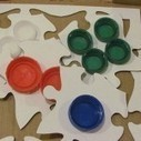 DIY: Pizza box textured puzzles | Teach Preschool | Scoop.it