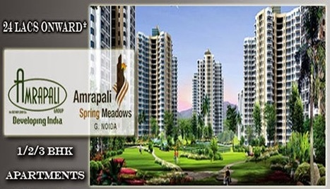 2Bhk flats for sale at Amrapali Spring Meadows. | Residential Property in Noida | Scoop.it