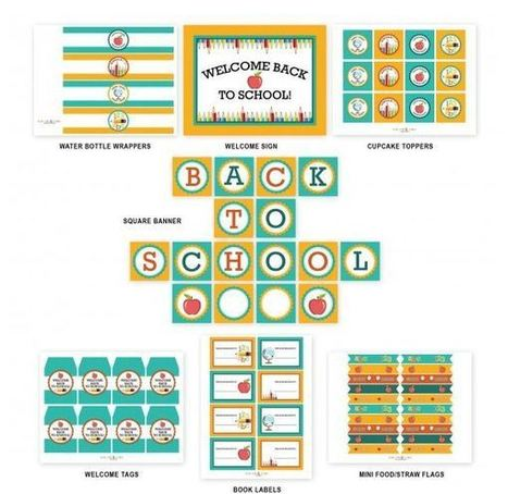 Back To School Free Printables | back to school | Scoop.it