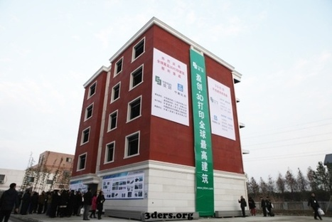 China Has Built a Giant Apartment With a 3D Printer | Peer2Politics | Scoop.it