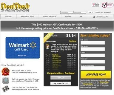 DealDash | CrunchBase Profile | DealDash | Scoop.it