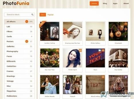 PhotoFunia : mettez du fun dans vos photos ! | Retouches et effets photos en ligne | Scoop.it