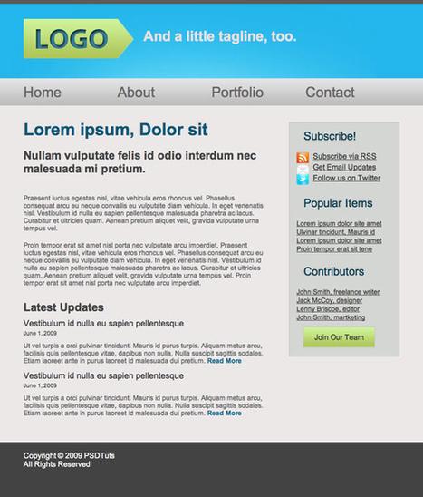 10 Hand-Picked Tutorials for Beginning Web Designers   Nettuts+   Web Designer Resources for Beginners   Scoop.it