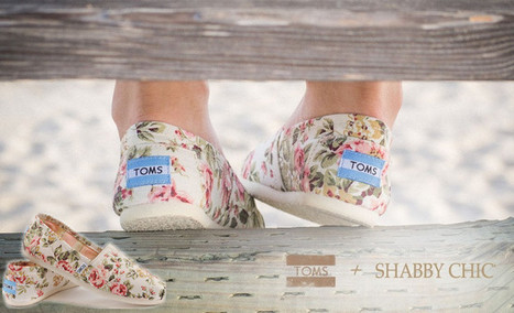 Pretty Shabby Chic Floral Print Toms Shoes Sale for Girls | Toms Outlet Cheap Shoes | Scoop.it